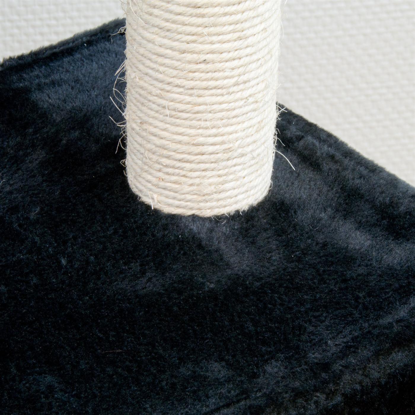 186 cm schwarz Kratzbaum Baum Katzen Kletterbaum Katzenbaum Katzenkratzbaum 8