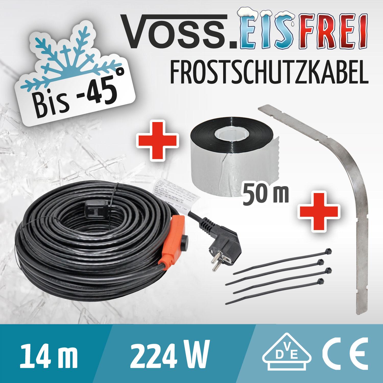 heizkabel frostschutz kabel rohrheizung dachrinnenheizung. Black Bedroom Furniture Sets. Home Design Ideas