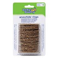 Busy Buddy Gnawhide Rings - Kauleder Ringe Größe C für Bouncy Bone M/L, L und Bristle Bone L