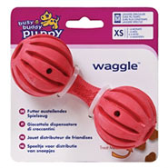 Busy Buddy Puppy Waggle - X-Small für kleine Welpen von 2 - 6 Monaten