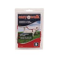 Easy Walk - Katzengeschirr mit Bungee-Leine, Small, rot