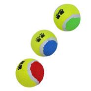 3er Set Tennisbälle Hunde Wurfspielzeug