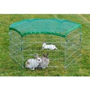 Kaninchen Freilaufgehege 60cm hoch, 6-eckig