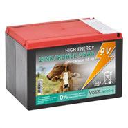 "VOSS.farming ""ZINK KOHLE 55Ah"" - 9V Weidezaunbatterie, klein"