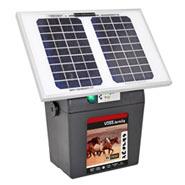 "VOSS.farming ""BV 3900 SOLAR"" 9V Weidezaun-Solarset inkl. Akku"