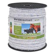 Seil 200m, 6x0,25 TLD, weiss + farbige Kennfäden