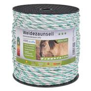 Seil 200m, 6x0,25 TLD, weiss/ grün
