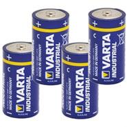 """4x 1,5V Batterie, Pack C, """"Varta Industrial"""""""
