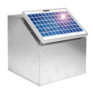 10W Solarsystem, inkl. Box und Zubehör