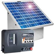 Komplett: 30W Solarsystem + Box + 12V AVi8.000