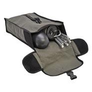 Wanderreiter-Set in kompakter Tasche mit Weidezaungerät