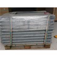 370x Recycling-Pfahl, rund, mit Spitze, 150cmx45mm