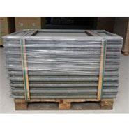 300x Recycling-Pfahl, rund, mit Spitze, 130cmx45mm - RESTPOSTEN !!