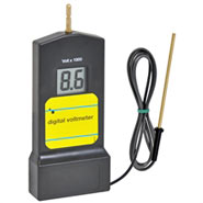 Zaunprüfer, Digital-Voltmeter