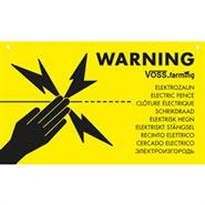 """Warnschild International """"VORSICHT ELEKTROZAUN / ELECTRIC FENCE"""""""