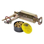 Wühlmaus Schussgerät, Kieferle W2, inkl. 50 Kartuschen Wühlmauskartuschen