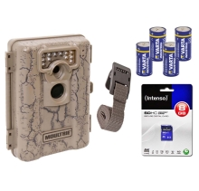 Wildkamera Komplettset, Überwachungskamera, Moultrie A-5 inklusive Batterien + SD-Karte