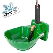 Kunststofftränkebecken, heizbar, Mod. HP20-230-RH, mit Rohrbegleitheizung