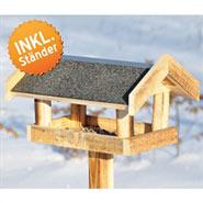 Bløkhus - Original Vogelhaus im dänischen Design, 115cm hoch, 28cm lang, 35cm breit!