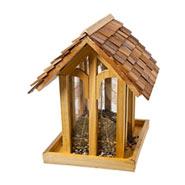 """Perky Pet Vogelhaus """"Bergkapelle"""", Holz, mit Schindeln gedeckt"""