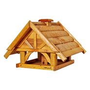 """Großes Vogelhaus """"Finkenheim"""" aus Holz"""