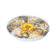 8x Vogelfutterpizza, ein Mix an Köstlichkeiten
