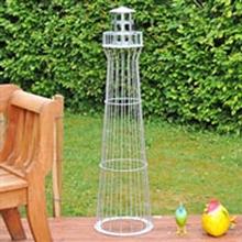 Leuchtturm 135cm, feuerverzinkt