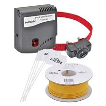 Combinatieset Petsafe Radio Fence PRF3004W, onzichtbare elektronische hondenomheining, 1 extra rol antennedraad 152 meter Petsafe B-100