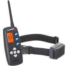 Dogtrace D-control 1040, trillings trainingshalsband met display en signaal LED voor honden vanaf 4kg, 1000mtr afstandstrainer