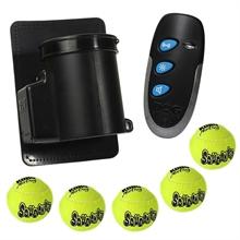 """DogTrace """"d-balls mini"""" ballenwerper, voordeelset met 4 extra tennisballen"""