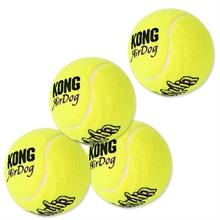 """4x """"kong"""" tennisballen voor ballenschieter"""