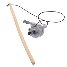 "VOSS.miniPET ECO Cat Toy ""Ed"" sisal katten speelhengel"
