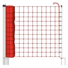 VOSS.farming mustangnet 170cm, 25 meter schrikdraadnet met dubbel pen