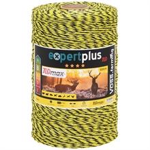 VOSS.farming schrikdraad 1000 meter, geel zwarte draad met 3x 0,25 TLD geleiders.