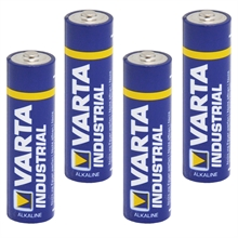 Varta industrial, 1,5V batterijen type AA 4 stuks