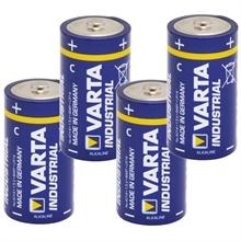 Varta industrial, 1,5V batterijen type C 4 stuks