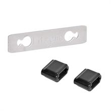 """10x Draadverbinder """"Litzclip®"""" RVS voor schrikdraad tot 3mm"""