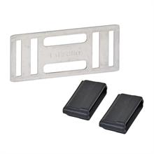 5x Litzclip, lintverbinder RVS voor lint tot 20mm