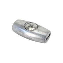 5x draadverbinder verzinkt, ovale verzinkte verbinder voor draad tot 5 stuks verpakking