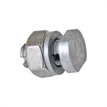 5x draadverbinder verzinkt, verbinder voor metaaldraad tot 3mm