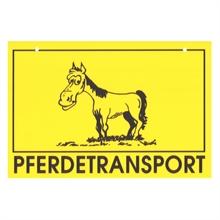 """1x VOSS.farming """"Pferdetransport"""" waarschuwingsbordje"""