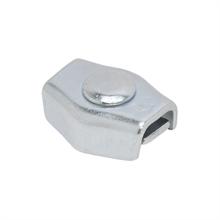 5x draadverbinder verzinkt, enkele verzinkte verbinder voor draad tot 3mm 5 stuks verpakking