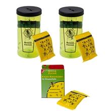 Swissinno Natural Control wespenval, voordeel set 2x Swissinno wespenval en 1x lokstof om wespen te vangen