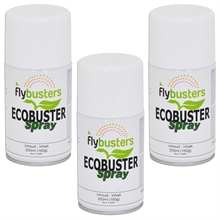 12x Flybuster Ecobuster navulling 250ml