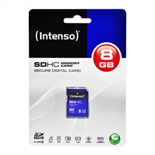 Intenso SDHC geheugenkaart SD, 8GB, Wildcamera