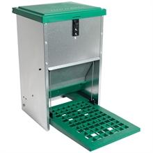 Feedomatic - automatische voederbak, trapbak, voederhopper voor pluimvee met pedaal voor maximaal 8 kg voer