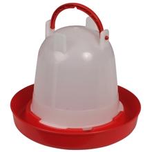 Pluimvee drinkbak, bajonetdrinker met bajonetsluiting, 1,5L inhoud