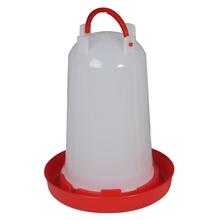 Pluimvee drinkbak, bajonetdrinker met bajonetsluiting, 6L inhoud