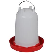 Pluimvee drinkbak, bajonetdrinker met bajonetsluiting, 12L inhoud