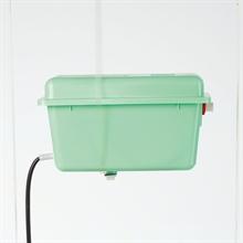 Vlotter compleet, standaard KS-ventiel, groen.